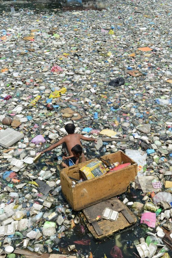 We all need to start changing our lifestyles, this is just wrong. Cleaning Up the Oceans Plastic Soup