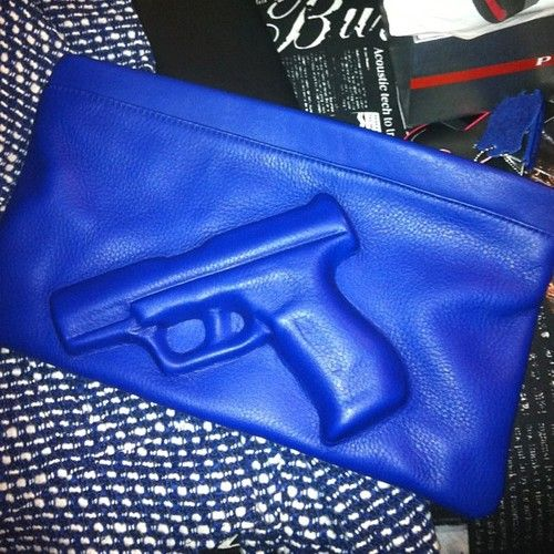 gangsta clutch! <3