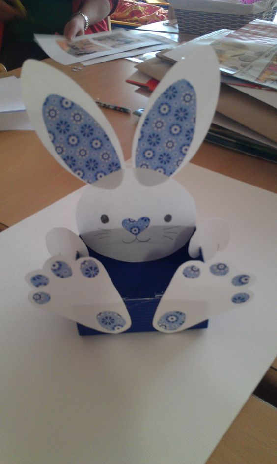 Easter Bunny. This is a great gift for children, in his basket can ...