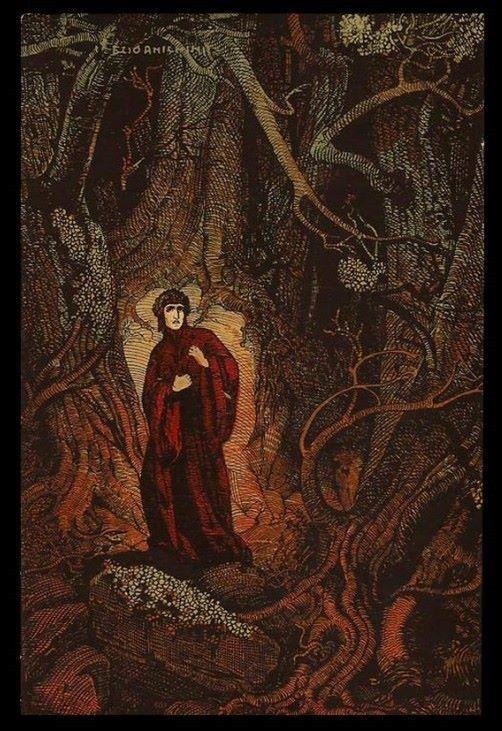 Enchantedbook The Divine Comedy Postcards By Ezio Anichini Read More Here Https Www Enchantedbooklet Com Divine Comedy Postcar Dante Alighieri Dante Art