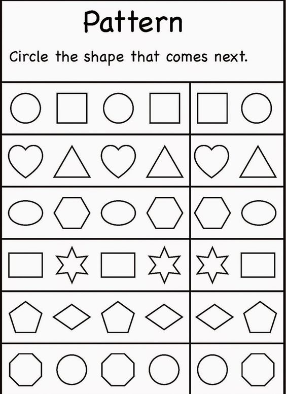 Common Worksheets » Free Printable Worksheets For 4 Year Olds ...