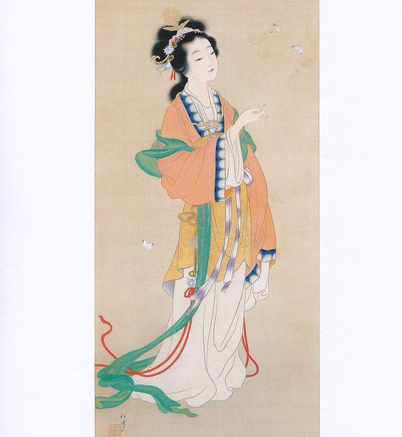 """""""楚蓮香""""(by Shoen Uemura)"""