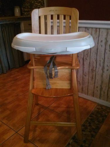 Eddie Bauer High Chair Wooden Maybe One Day
