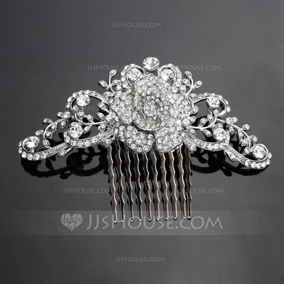 Headpieces - $14.99 - Beautiful Alloy Hair Combs (042041721) http://jjshouse.com/Beautiful-Alloy-Hair-Combs-042041721-g41721?pos=more_items_to_consider_2