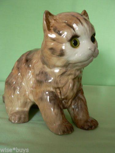 """JUST CATS & FRIENDS"" MODEL OF A TABBY KITTEN"