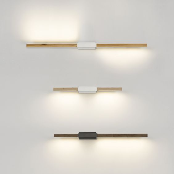 Horizontal Sconce - stick bulb - pendants or wall mount, multiple configurations Residential ...