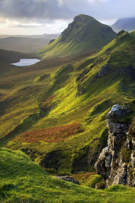 Trotternish Hills, Isle of Skye, Scotland