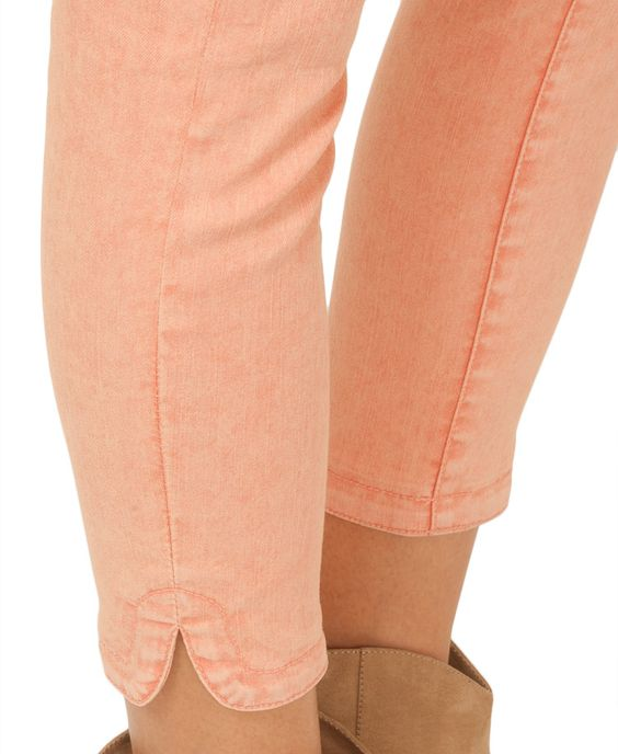 Mineral Wash Cropped Skinnies | FOREVER21 - 2000045188