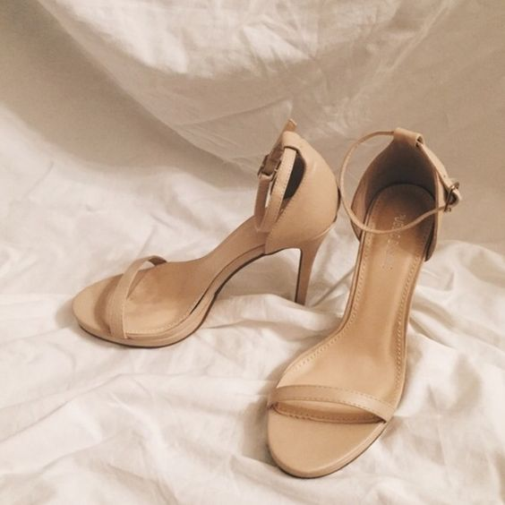 Public Desire Lottie Barely There Heels NWT | Shoes, Photos and ...