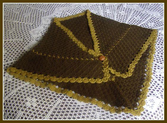 A punto de red patrones toca a crochet para la abuela - Toca de ganchillo ...