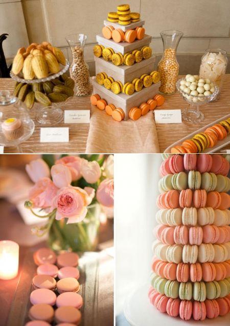 Idée présentation n°4 Macarons