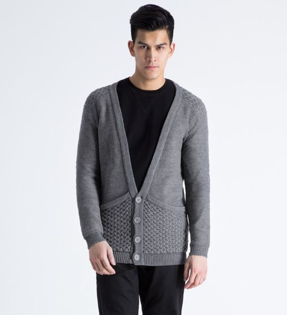 Thing Thing Grey The Leftist Cardigan