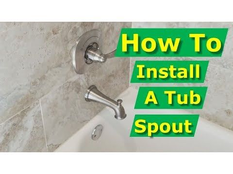 1 How To Install Bathtub Spout Solder On Adapter Delta In2ition