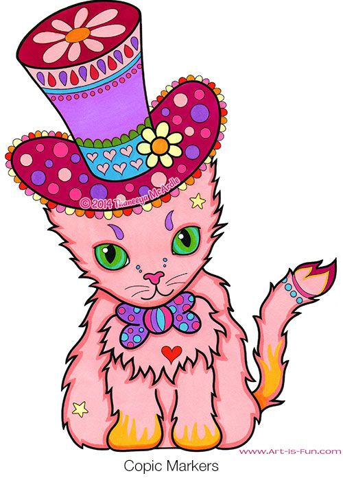 Cute Cats Coloring Books And Coloring On Pinterest