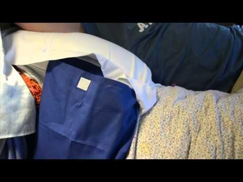 pillow pocket pal - YouTube