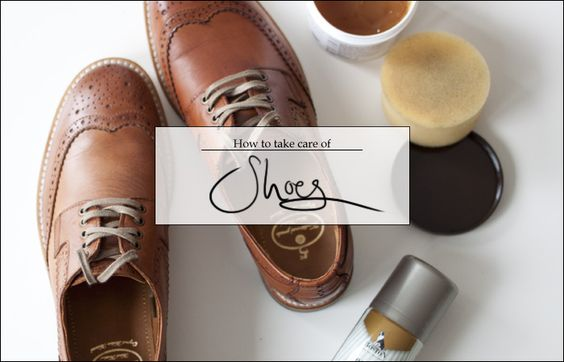 How to take care of shoes | from lostinaspotlessmind.com