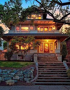 Craftsman Style Homes Washington State House Design Plans