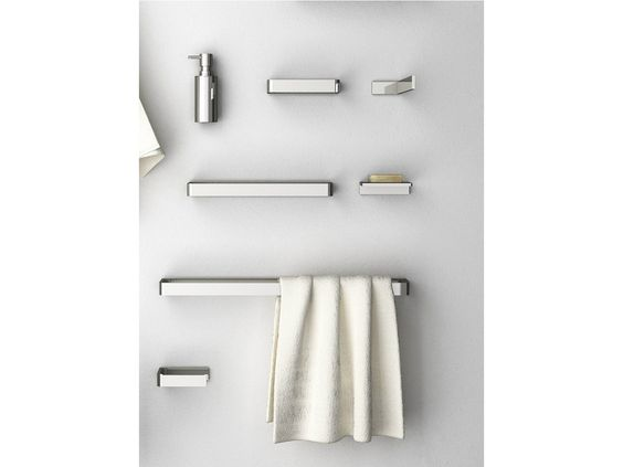 Brass towel rail DEEP Collection by mg12 | design Monica Freitas Geronimi