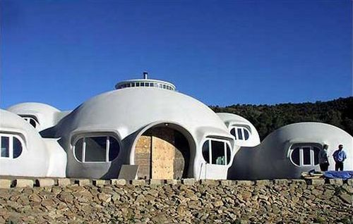Dome's your home. Perfections aren't always straight, they could be curved as a dome. If thought baffles you, the picture above should clarify. The six-bedroom, two-bath, 5,600 sq. ft. monolithic dome home is situated on a bluff at 6,700 feet above...: