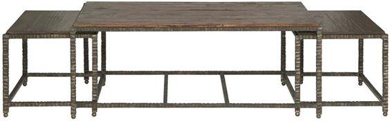 Vanguard Furniture: P438C-TW - Lewis (Bunching Cocktail Table)