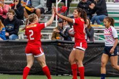 The Canadian women are riding a wave of success after winning theWorld Rugby Sevens Series finale in Clermont-Ferrand.Now they've learned...