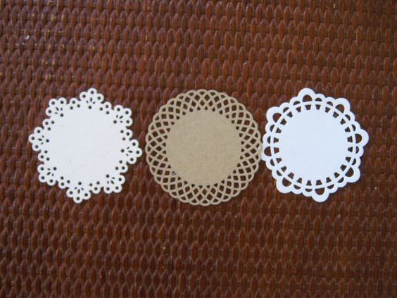 paper doilies, any color
