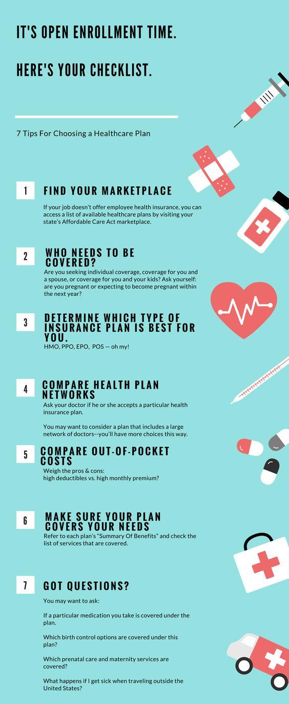 7 Tips For Choosing A Healthcare Plan Healthcare Plan