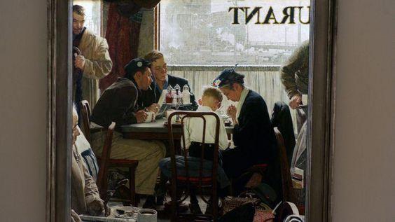 Norman Rockwell Le tableau Saying Grace réalisé en 1951  Le 05/12/2013 a été vendu 46 millions de dollars soit deux fois sa valeur estimée chez Sotheby's à New York.