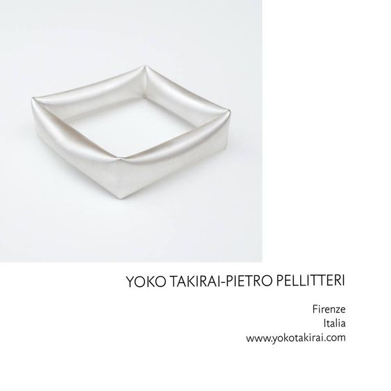 Yoko Takirai/Pietro  Pellitteri- EXPO 'INFLUENCES' - during the Munich Jewellery Week - B/E Galerie Benjamin Eck, Munich (DE) - 7-10 Mars 2018