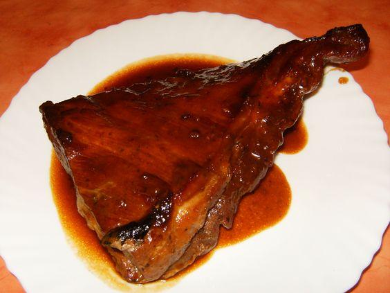 COSTILLAS A LA MIEL: Recipes Recipes, Mis Recetas, Cocina Carnes, Honey