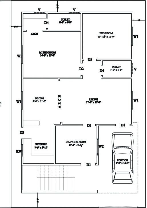 23 Awesome Floor Plans For 750 Sq Ft House Gallery 30x40 House Plans 30x50 House Plans Duplex House Plans
