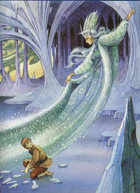 THE SNOW QUEEN BY JOHN PATIENCE