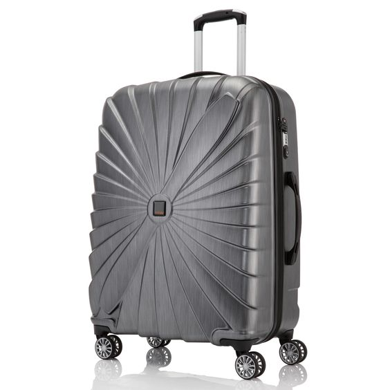 Großer #Koffer TITAN Triport bei Koffermarkt: ✓anthrazit ✓4 Rollen ✓74 x 53 x 29 cm ✓Hartschalenkoffer ✓leicht ✓106 Liter Volumen