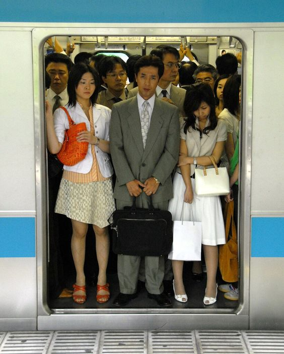 Go to work by MRT