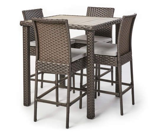 Real Living Brighton 5 Piece High Top Cushioned Patio Dining Set Big Lots In 2021 Patio Dining Set Patio Dining Outdoor Tables And Chairs High top patio table sets