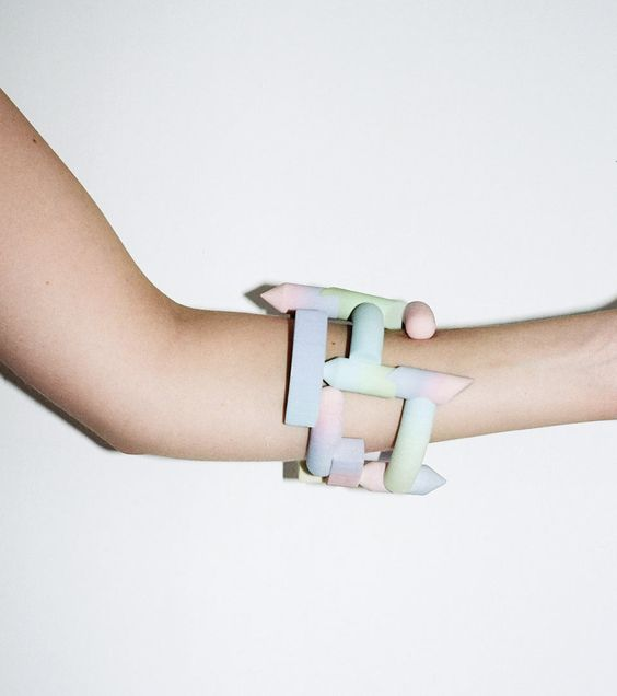 Gradient Bangles by Maiko Gubler