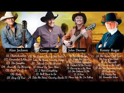 Greatest Classic Country Songs By Alan Jackson John Denver