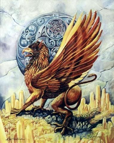 griffin badge
