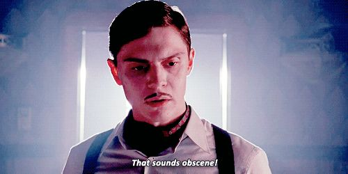 American Horror Story: Hotel Recap: I Have Feelings About Evan Peters' Mustache, And Other Concerns