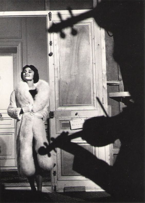 """Sam Shaw. Audrey Hepburn. """"Love in the Afternoon"""". Paris. 1959"""