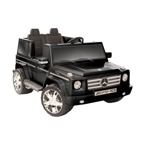 Kid motorz mercedes benz g55 suv battery powered riding for Walmart mercedes benz toy car