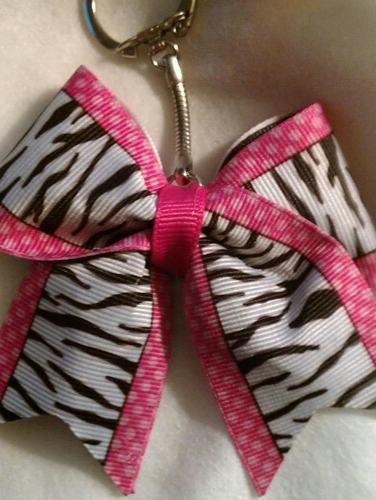 zebra with pink dots