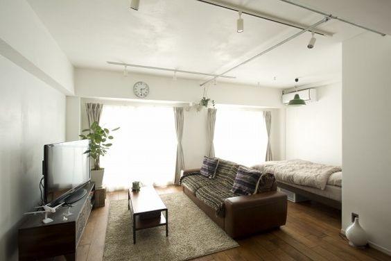 ブラウン床 ダークブラウン家具 これで 家具 選びは完璧 床色別