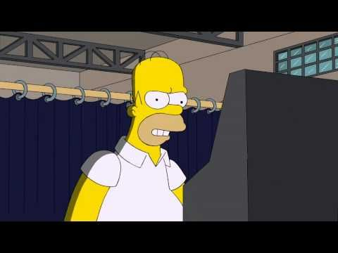 THE SIMPSONS - Homer Votes 2012 | Meet ROMNEY - I HAVE A HOUSE IN YOUR STATE