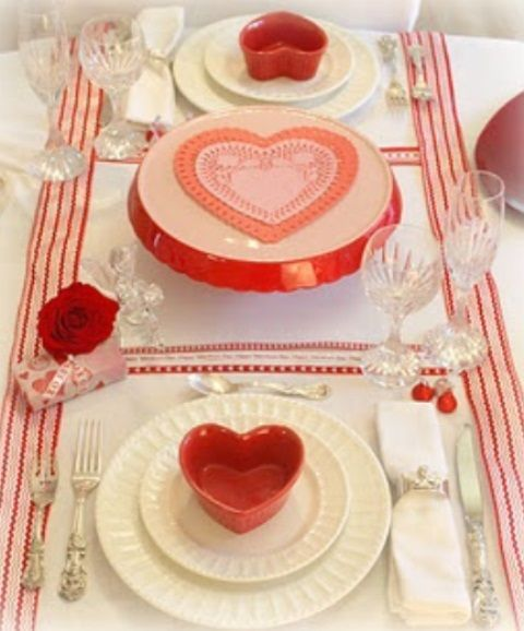 59 Romantic Valentine S Day Table Settings Valentine S
