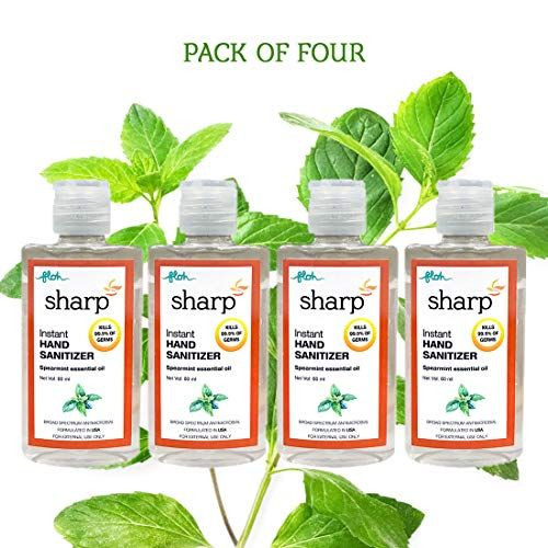Floh Sharp Hand Sanitizer With 70 Ipa And Vitamin E 60ml Pack