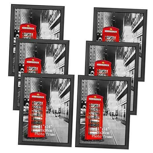 Amazing Roo 6 Pack 11x14 Picture Frame Without Mat To Display Photo 11 X 14 Inch Frames Ebay Link In 2020 Picture Frame Wall 16x20 Picture Frame 11x14 Picture Frame