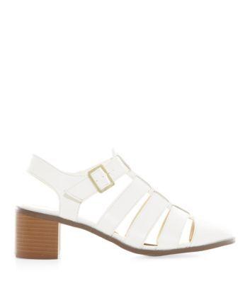 Cream Bridal Satin Embellished Ankle Strap Heels | Shops
