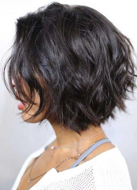 Bob Frisuren Stufig Luxury Die Besten 25 Bob Frisuren Stufig Ideen Auf Pinterest In 2020 Hair Styles Short Wavy Hair Thick Hair Styles
