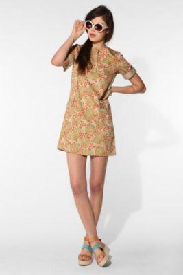 safari print dress ++ a.p.c.